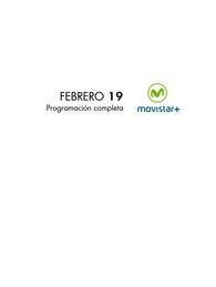 Movistar | Programación febrero Movistar + | ZS.pub